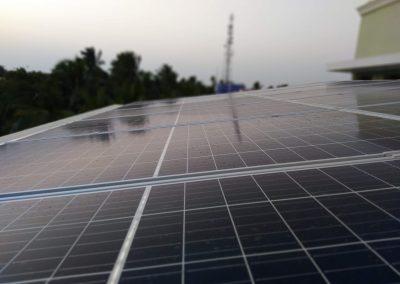 Solar Panel Installation – 7KW solar on-grid system