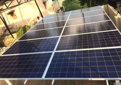 Solar Panel Installation – 6KW solar on-grid system